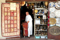 Antique and rugs merchant